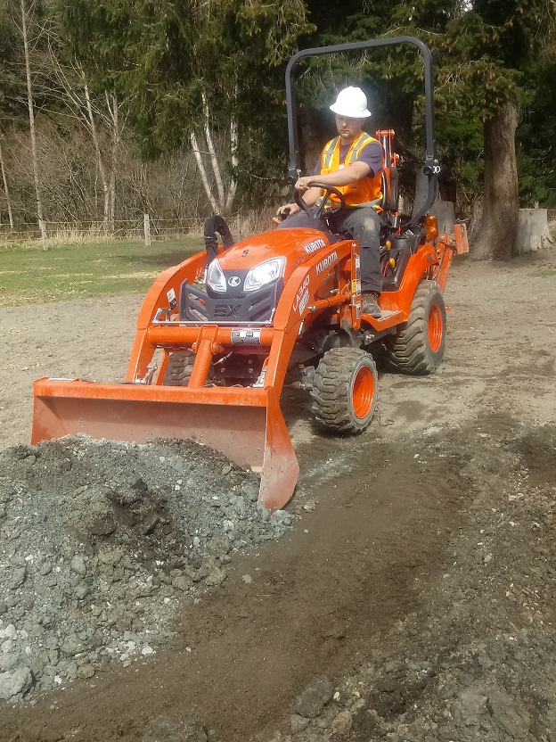 Trenching for Electrical